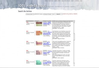 1001 Nights website