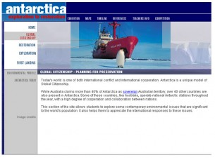 Clean Up Antarctica website