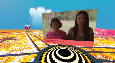 Aunty Edna and Crystal Murven